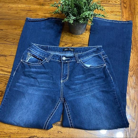 Love Indigo Jeans Size 12 X 31 Boot Cut